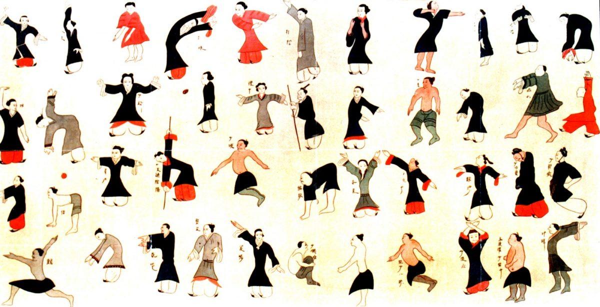 Fundamentos das práticas corporais chinesas - Chi Kung: exercícios chineses para a saúde 7