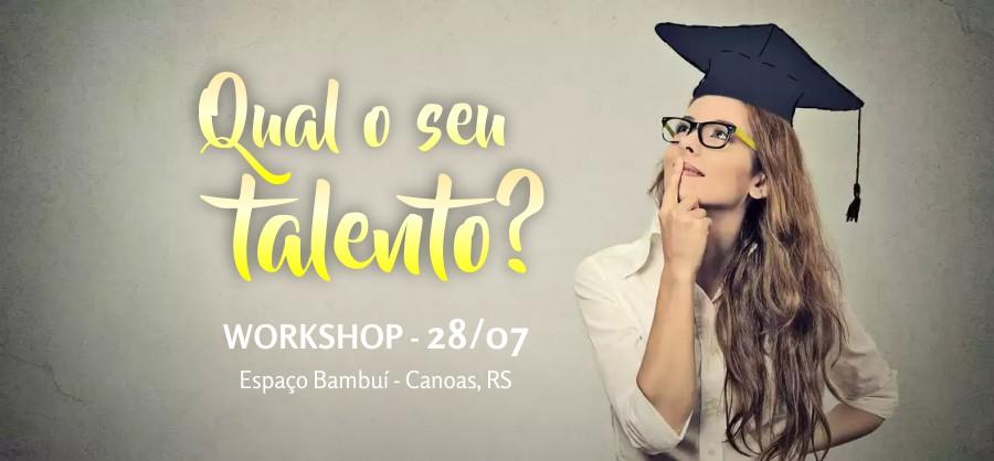 Workshop de Coaching: Qual o seu talento? 7