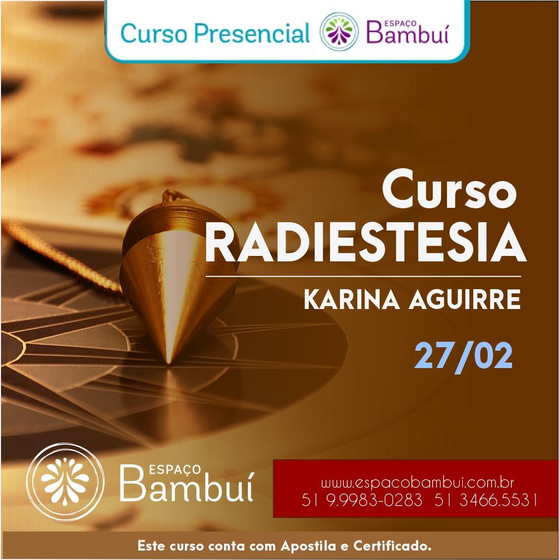 Curso de Radiestesia e Radiônica Sensitiva módulo Básico 7