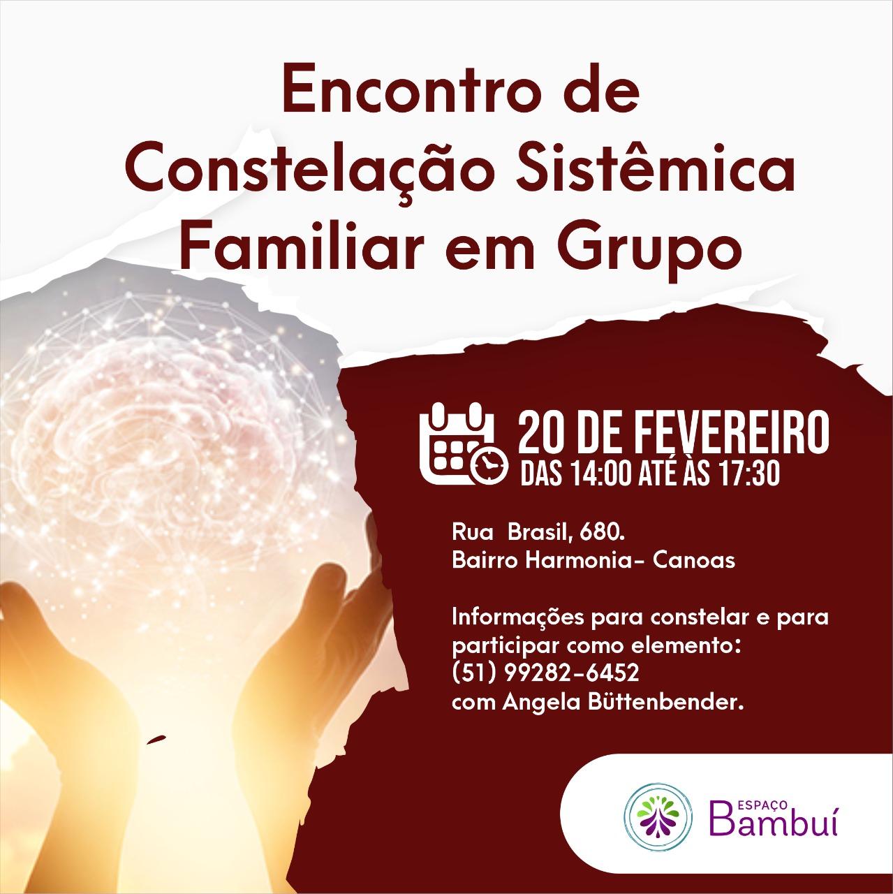 Encontro de Constelação Sistêmica Familiar em Grupo 7