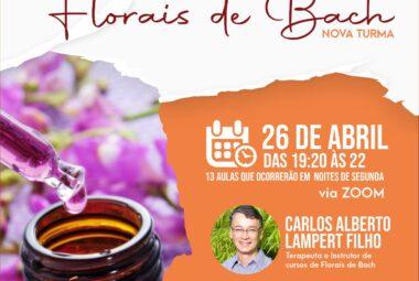 Curso De Florais De Bach Online Em Canoas - Espaco Bambui