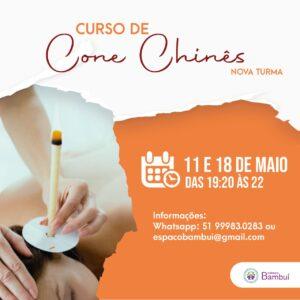 Curso de Cone Chinês em Canoas - 11/05 e 18/05 - Espaço Bambuí