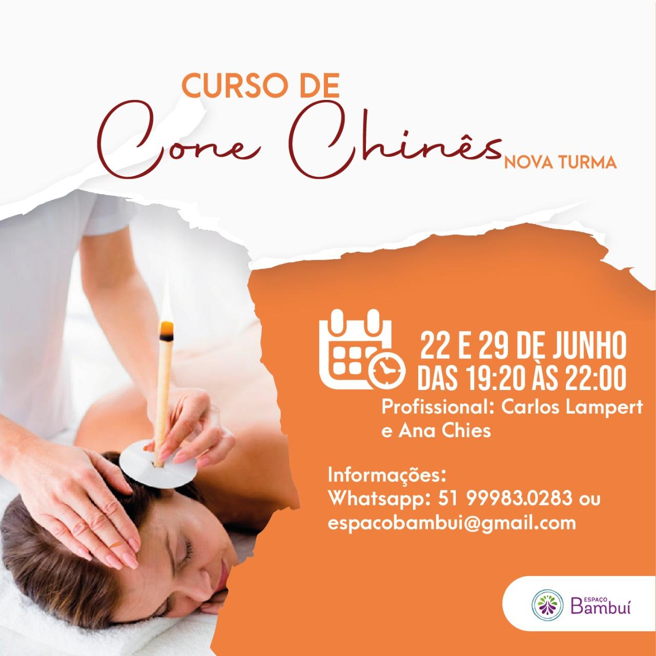Curso de Cone Chinês em Canoas